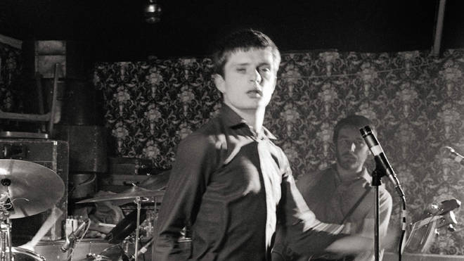 Joy Division's Ian Curtis performs in 1979