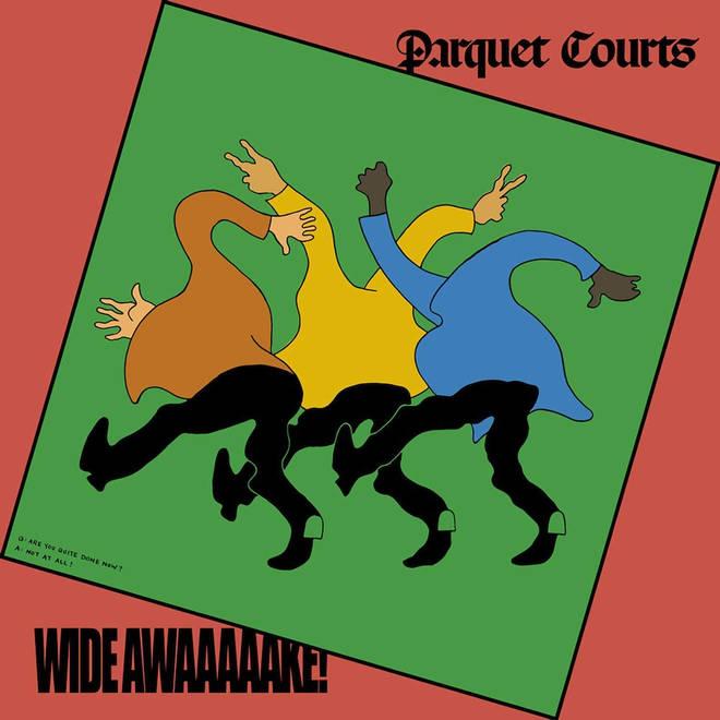 Parquet Courts - Wide Awake! album artwork