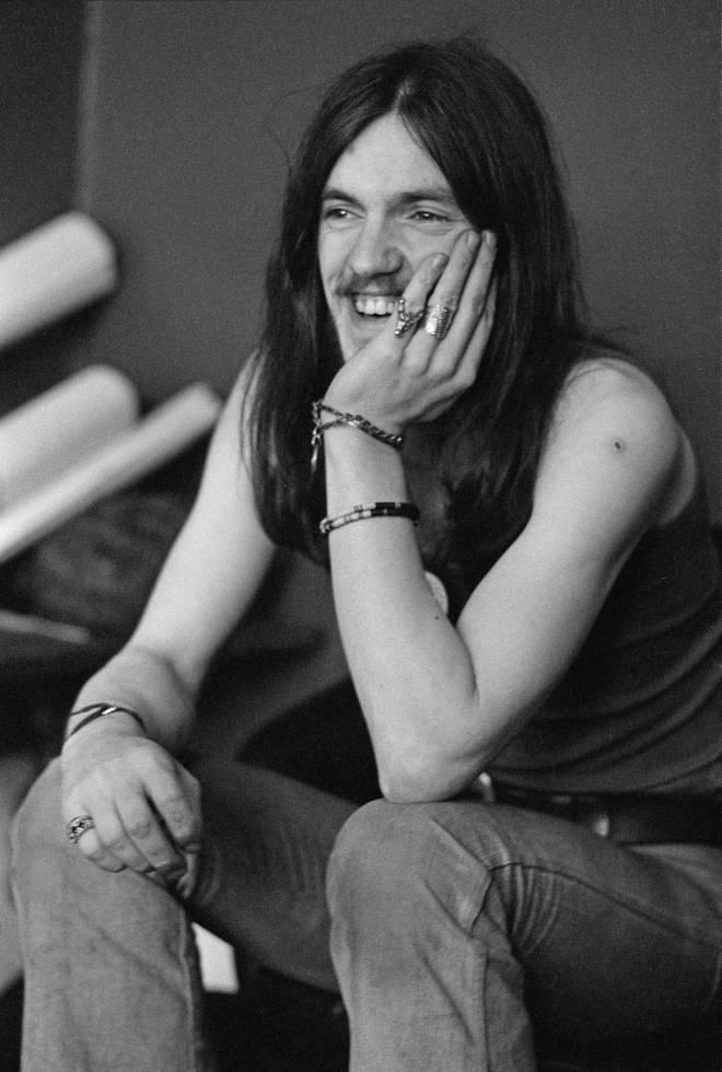 """Ian """"Lemmy"""" Kilminster in his Hawkwind days in 1973"""