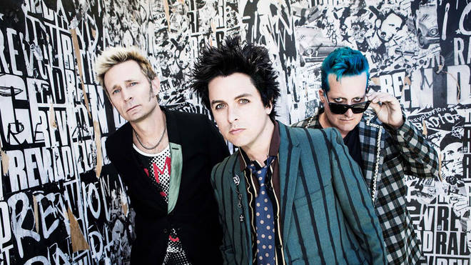 Green Day in 2016: Mike Dirnt, Billie Joe Armstrong and Tre Cool