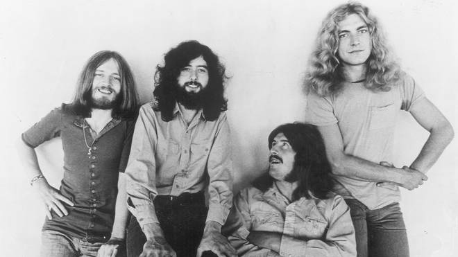 Led Zeppelin in 1970: John Paul Jones, Jimmy Page, John Bonham, Robert Plant