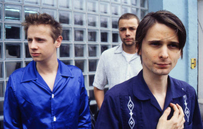 Muse in 1999:  Matthew Bellamy, Dominic Howard and Christopher Wolstenholme