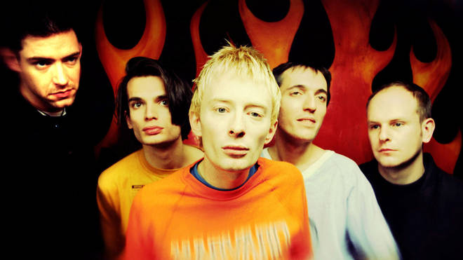 Radiohead in 1993: Ed O'Brien, Jonny Greenwood, Thom Yorke, Colin Greenwood and Phil Selway