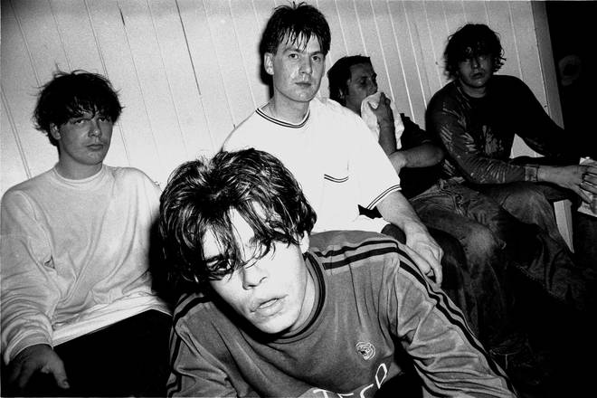 The Charlatans in 1990