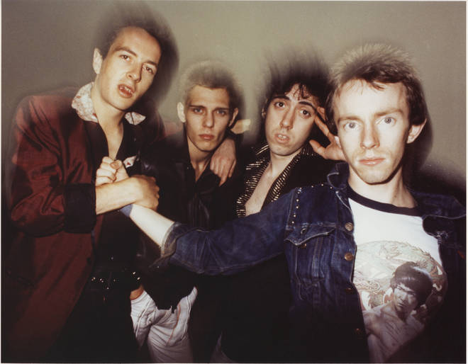 The Clash in 1978: Joe Strummer, Paul Simonon, Mick Jones, Nicky 'Topper' Headon
