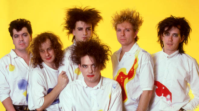 The Cure in 1987: Lol Tolhurst, Porl Thompson, Simon Gallup, Robert Smith, Boris Williams and Roger O'Donnell.