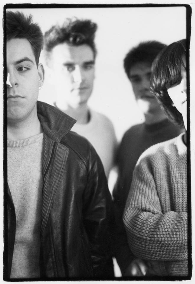 The Smiths in 1984: Andy Rourke, Morrissey, Mike Joyce and Johnny Marr