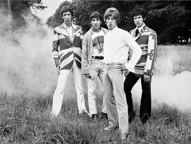 The Who in 1968: Pete Townshend, Keith Moon, Roger Daltrey and John Entwistle.
