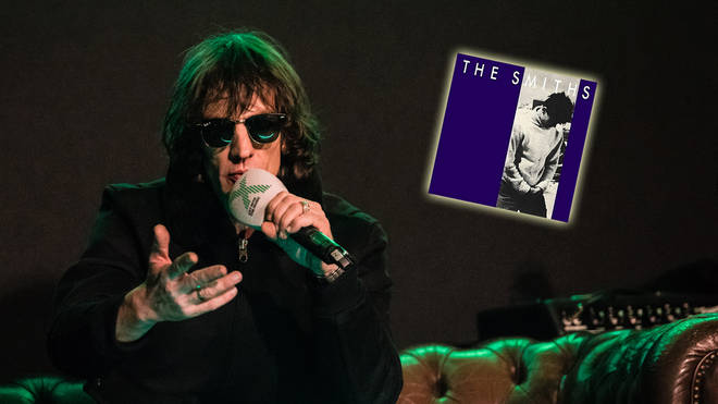 Richard Ashcroft with The Smiths' How Soon Is Now? artwork inset