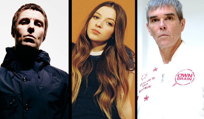 Former Oasis frontman Liam Gallagher, Jade Bird and The Stone Roses frontman Ian Brown
