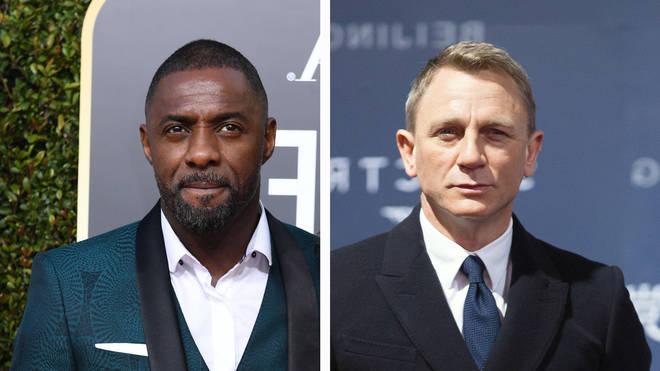 British actors Idris Elba and Daniel Craig