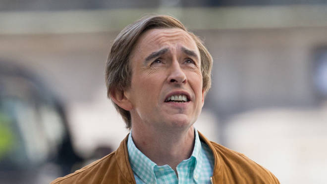 Steve Coogan films his new Alan Partridge show This Time With Alan Partridge