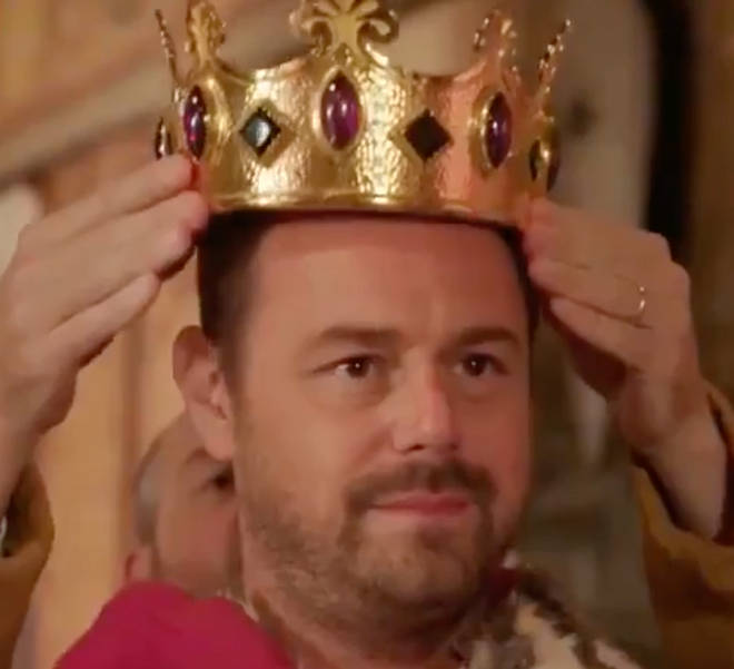 Danny Dyer in BBC One's Right Royal Family