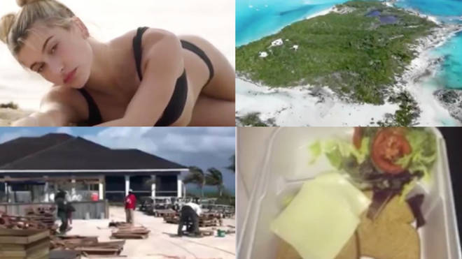 Screenshots of Netflix's Fyre festival documentary FYRE