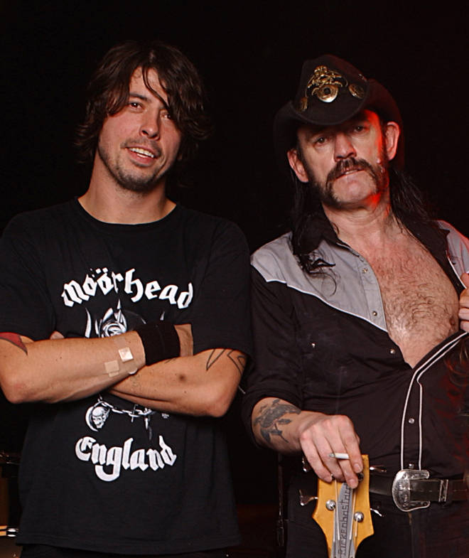 Dave Grohl and Lemmy in Hollywood, 2003