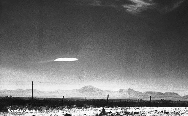 UFO Flying Over New Mexico in 1957
