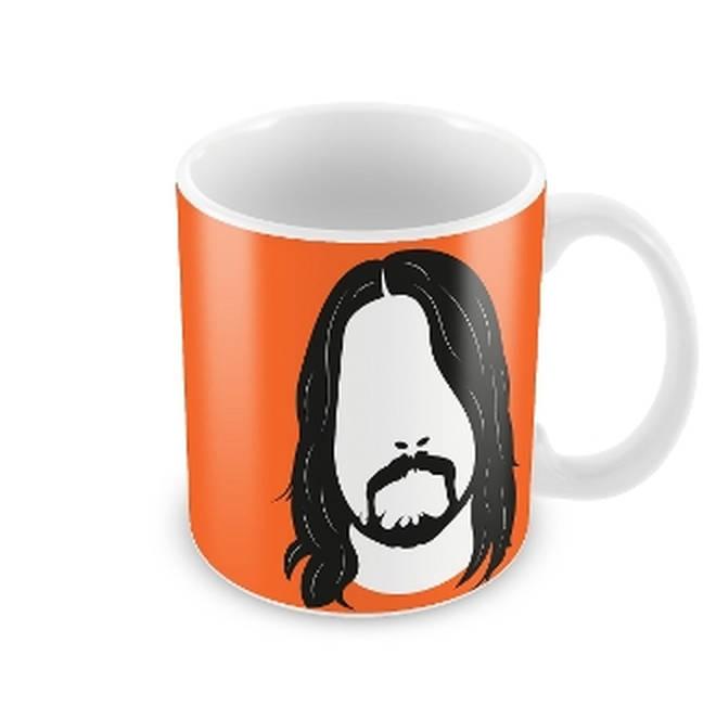 Dave Grohl logo mug