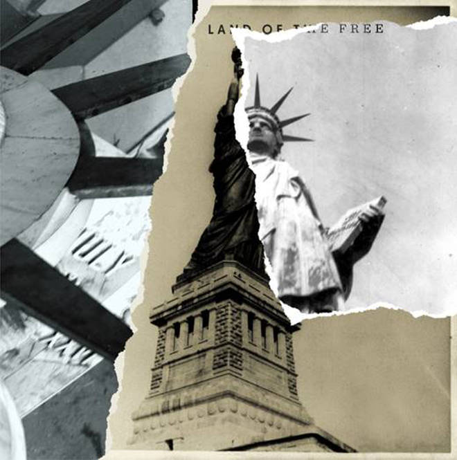 The Killers' Land of the Free single artwork