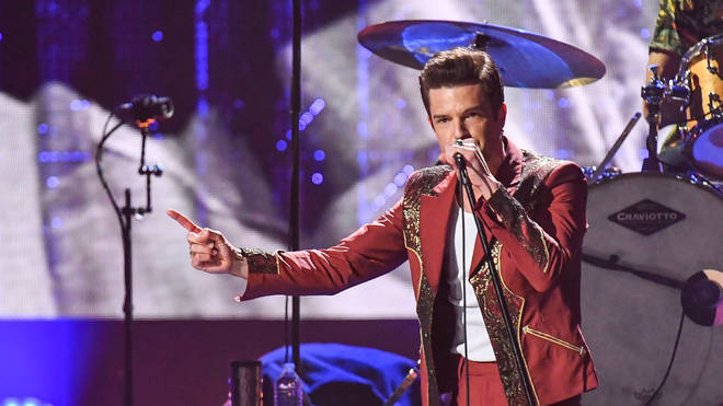 The Killers' Brandon Flowers performs in 2018