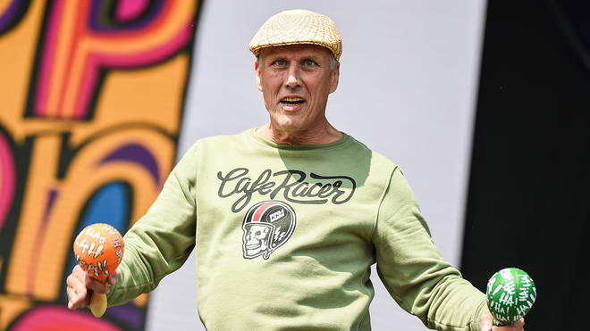 Happy Mondays star Bez at Victorious Festival 2018