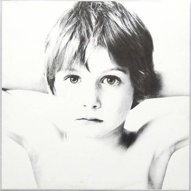 U2 - Boy album cover
