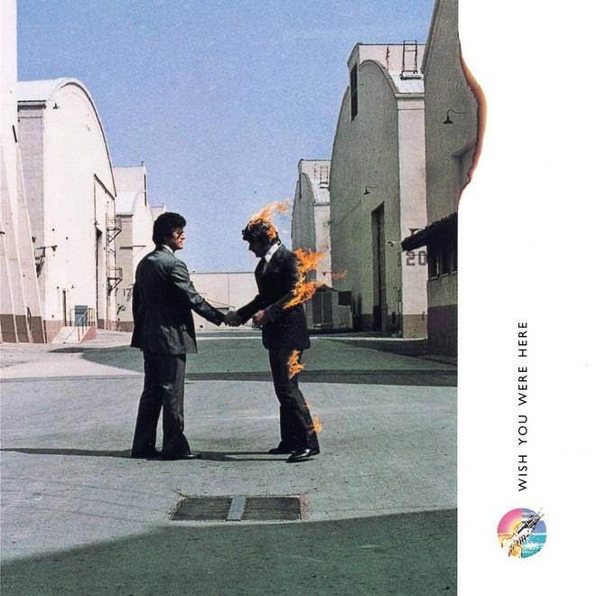 Pink Floyd - Wish You Were Here album cover