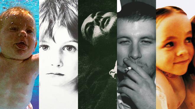 Famous album cover stars