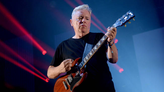 Bernard Sumner of the band New Order performing at the music festival Lollapalooza in Berlin, Germany, 10 September 2016