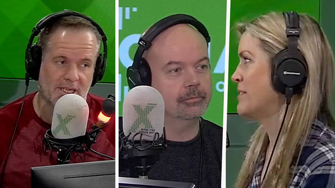Chris Moyles, Dominic Byrne and Pippa on The Chris Moyles Show