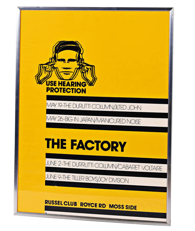FAC 1 - the first Factory poster
