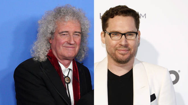 Queen's Brian May and US director and producer Bryan Singer