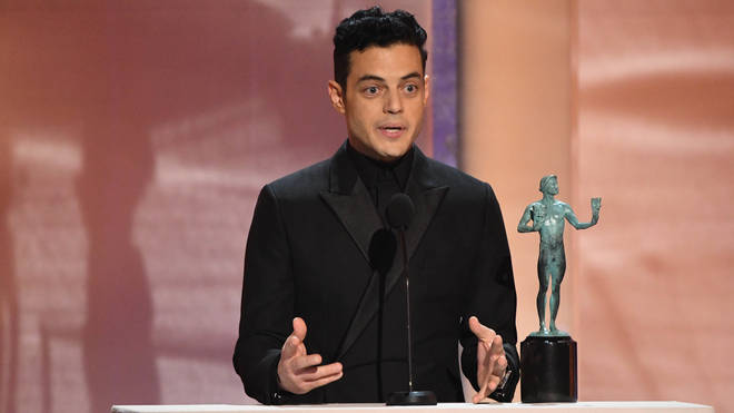 Rami Malek wins Outstanding Performance by a Male Actor at the 25th Screen Actors Guild Awards
