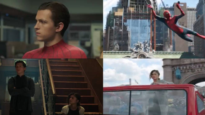 Stills from the Spider-Man: Far From Home trailer