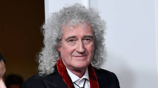 Brian May at the Golden Globe Awards, January 2019