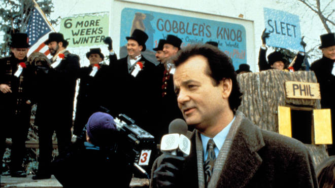 Bill Murray in Groundhog Day (1993)