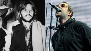 Ringo Starr and Liam Gallagher