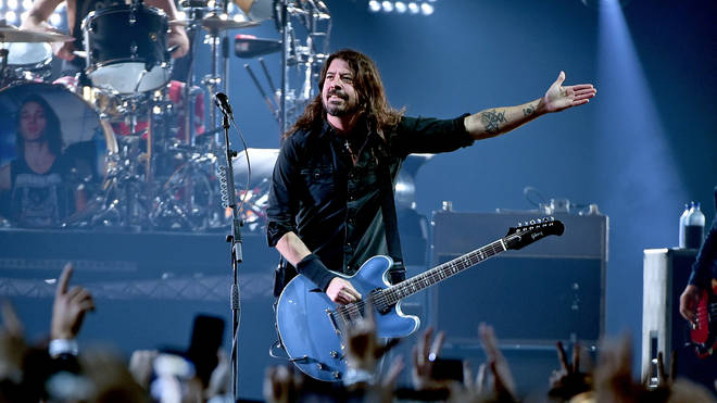 Dave Grohl of Foo Fighters performs onstage at DIRECTV Super Saturday Night 2019 at Atlantic Station on February 2, 2019 in Atlanta, Georgia