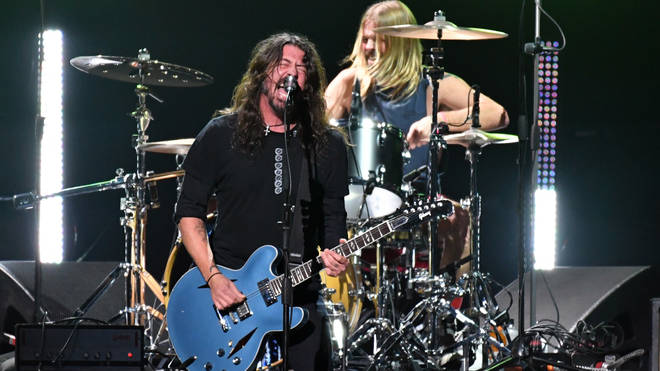 Dave Grohl performs at the Chris Cornell tribute concert, January 2019