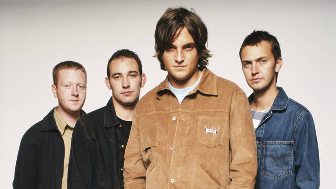 Starsailor in 2001: Ben Byrne, James Stelfox, James Walsh and Barry Westhead