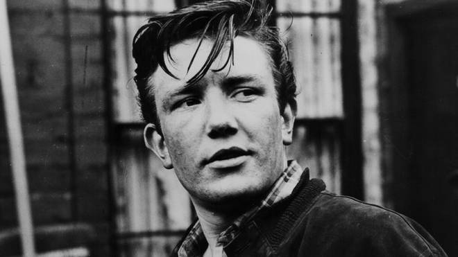 The man who delivered the famous line on screen - actor Albert Finney in 1960