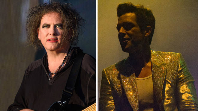 The Cure's Robert Smith and The Killers' Brandon Flowers
