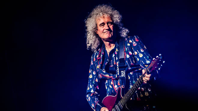 Brian May performs in 2019