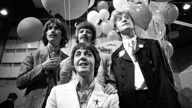 The Beatles in June 1967