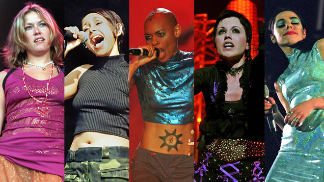 Female singers from the 1990s