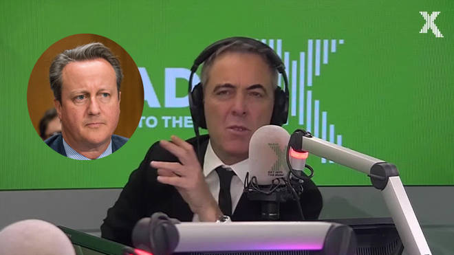 James Nesbitt reveals how he pranked David Cameron at Wilderness Festival