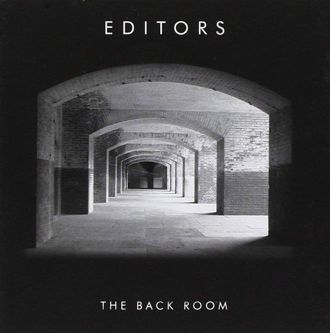 Editors - The Back Room album cover