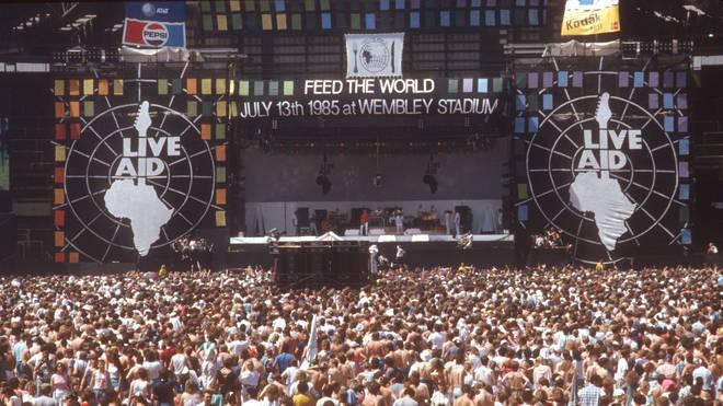 Live Aid at Wembley Stadium, 13 July 1985