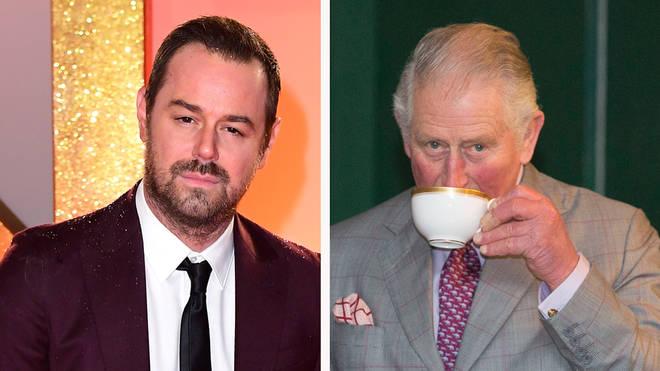 Danny Dyer and His Royal Highess Prince Charles