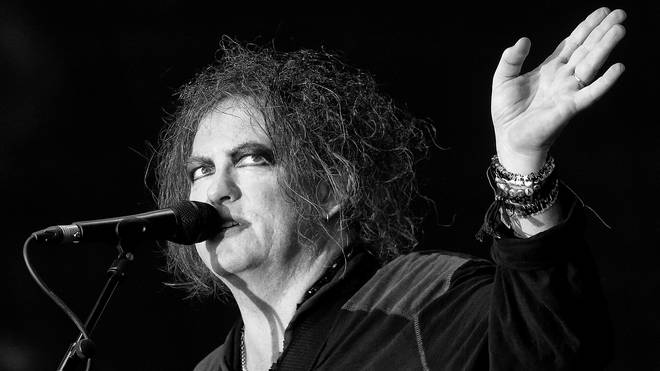 The Cure's Robert Smith at Hyde Park, July 2018