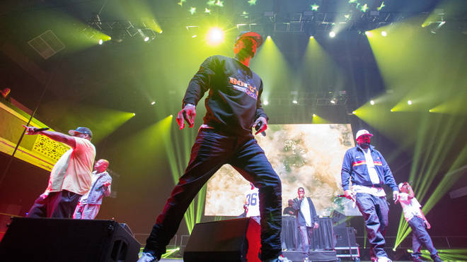 Wu Tang Clan live